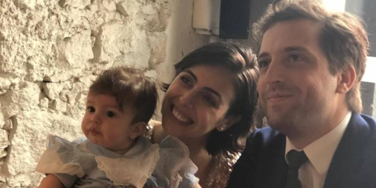 Gregorio Duvivier e Giovanna Nader se casam em padaria carioca