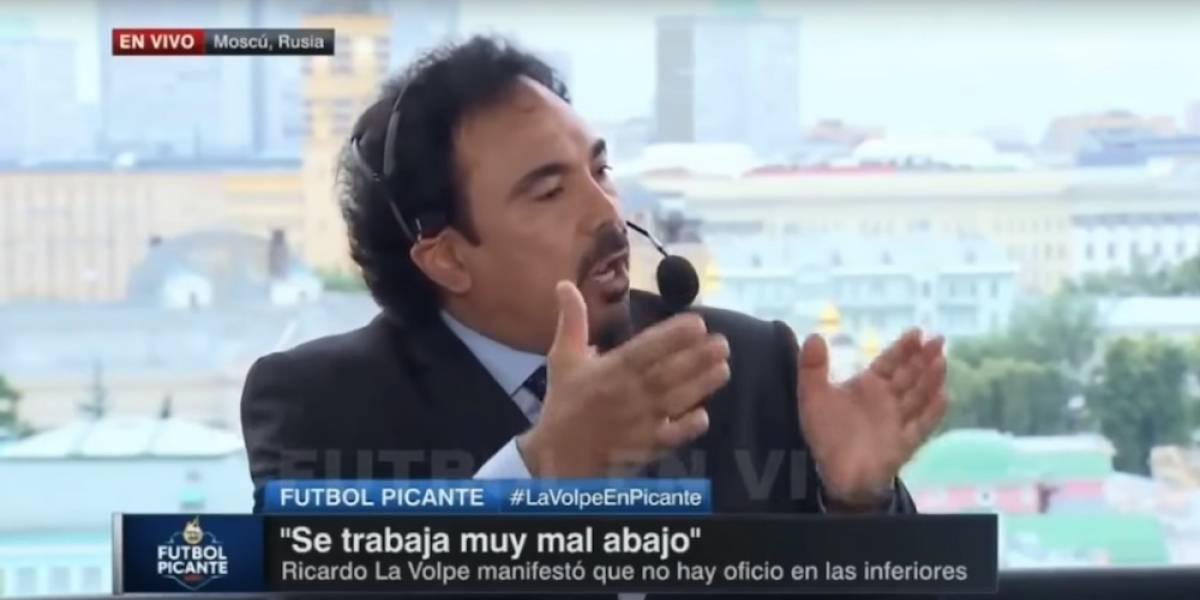 Hugo Sánchez vuelve a despotricar contra Ricardo La Volpe, le dice 'vividor'