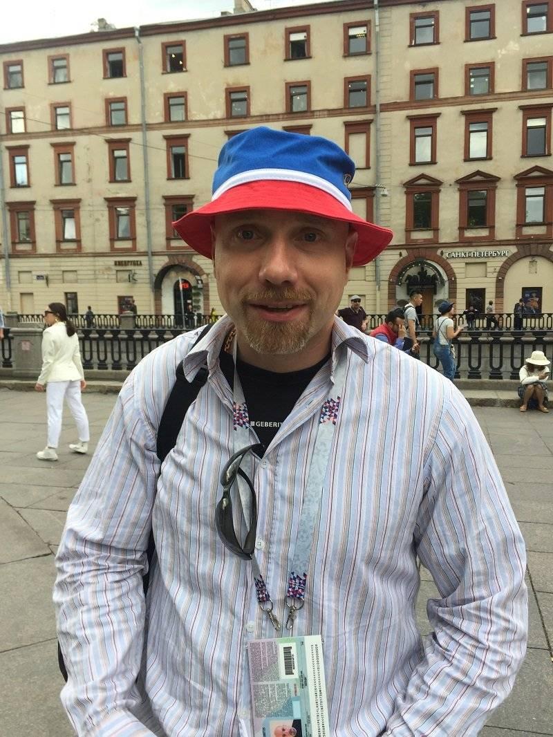 Petri Nyberg, Fan de 35 años de Finlandia