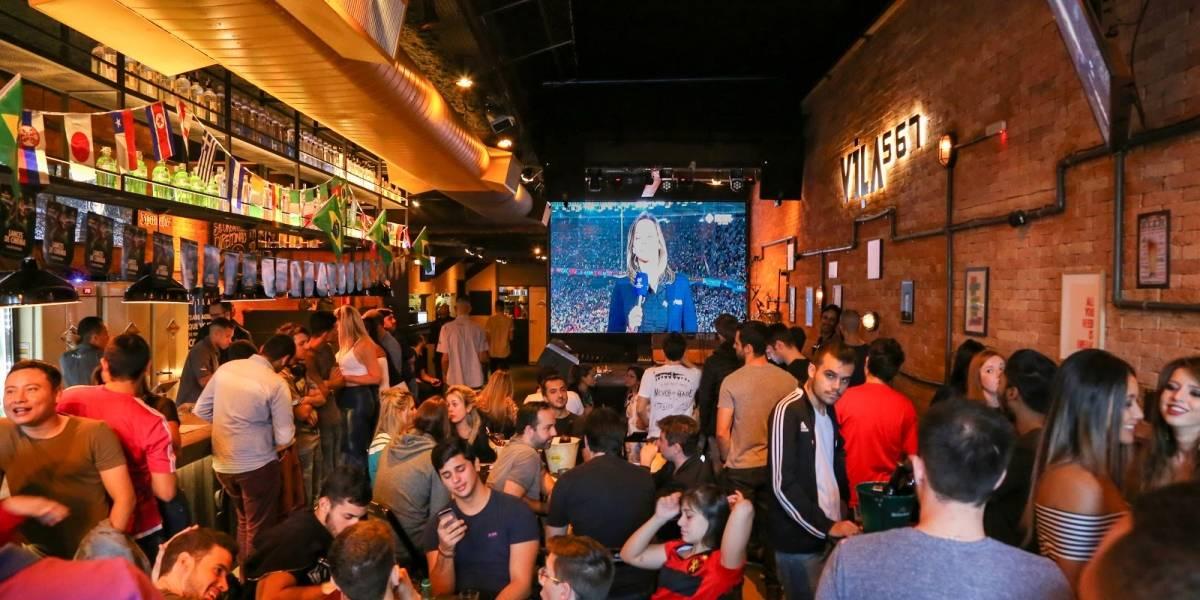Bares em São Paulo com open bar para assistir ao jogo do Brasil