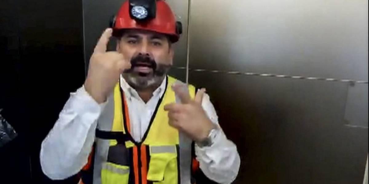 """VIDEO. """"¡Mucha fuerza!"""", el mensaje de uno de los 33 mineros chilenos a los niños en Tailandia"""