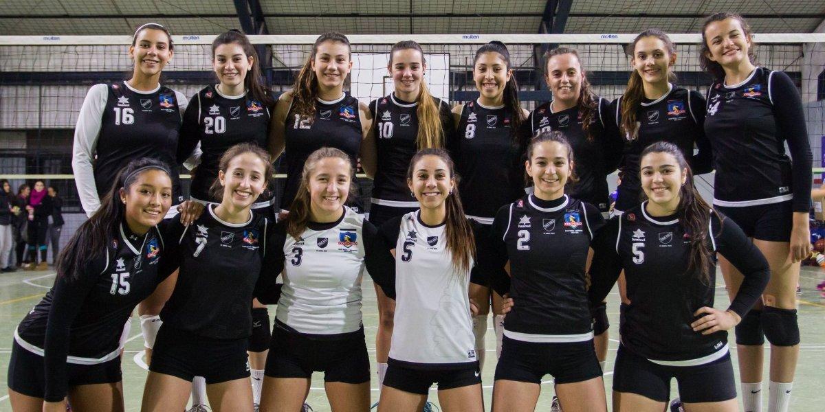 La rama femenina del CSD Colo Colo tendrá su estreno en la Liga A1 de vóleibol