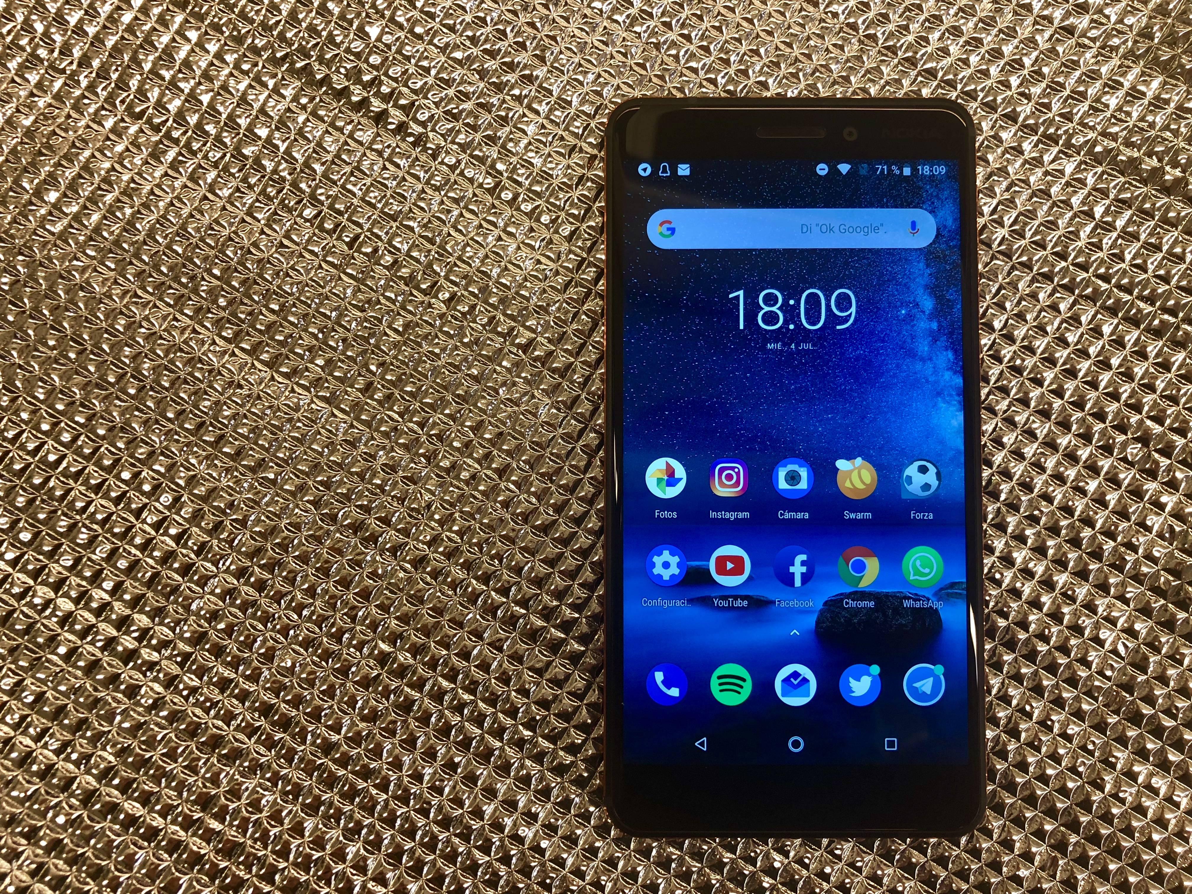 Nokia 6.1 2018 portada