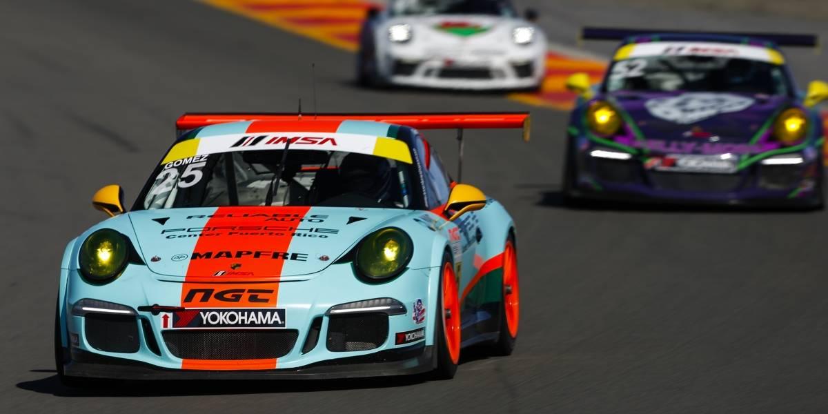 Boricua a tres carreras del campeonato Porsche GT3 Cup Challenge