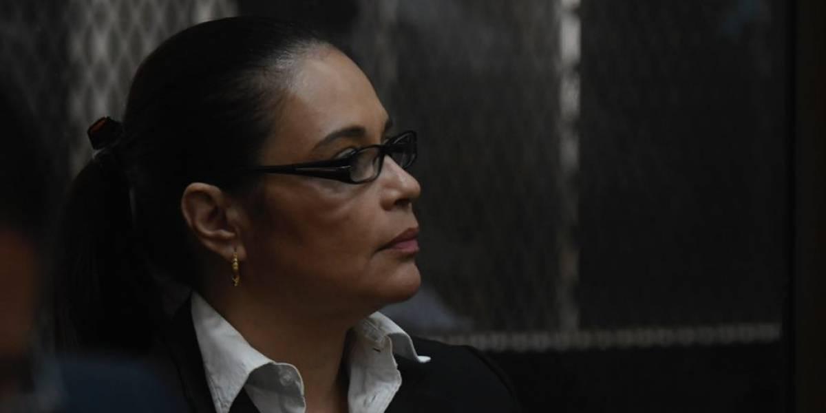 Roxana Baldetti rechaza defensa pública en Caso La Línea
