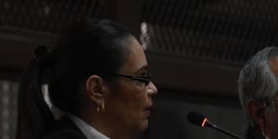 Roxana Baldetti rechaza defensa pública