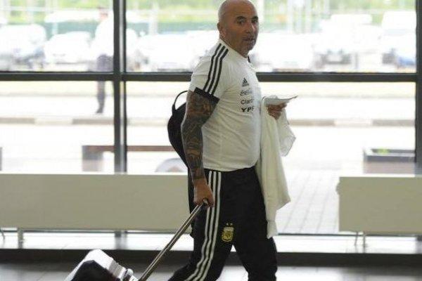 El técnico llegó a Buenos Aires / imagen: Diario Olé