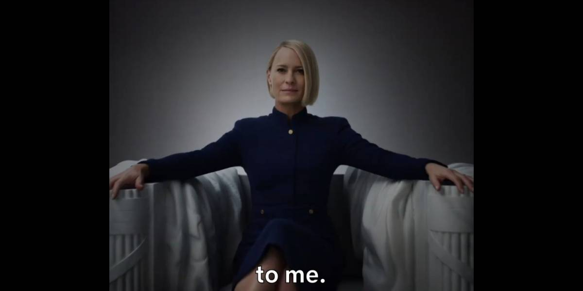 Netflix: House of Cards anunció que regresa La Presidenta