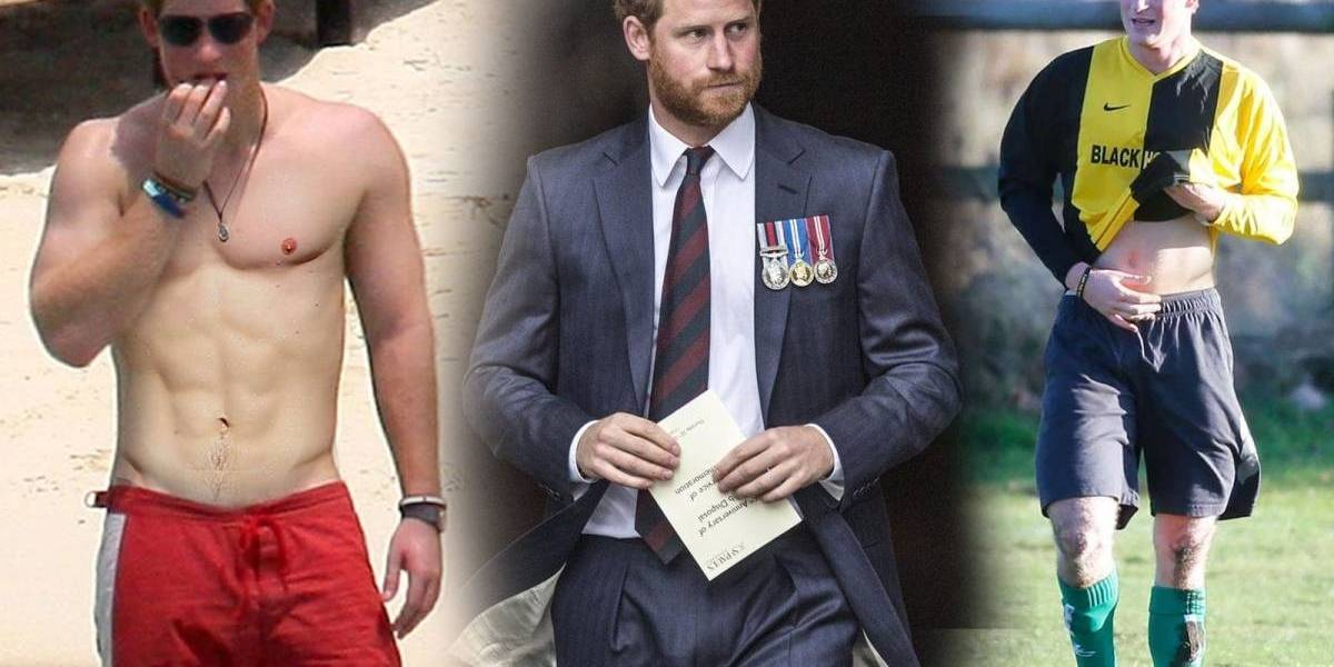 As fotos mais sexy do príncipe Harry que você não viu