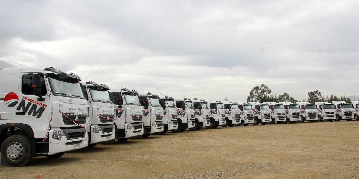 Sinotruk aporta con una flota de camiones a Nuevo Mundo