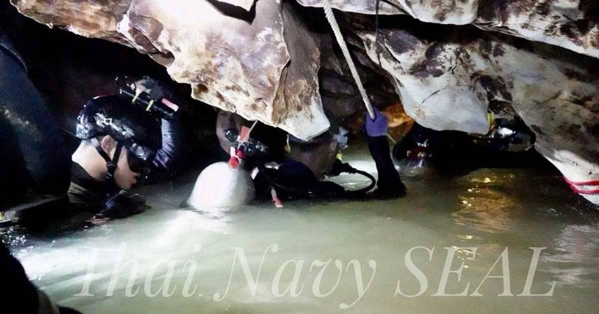 Thai Navy Seal/Handout via REUTERS