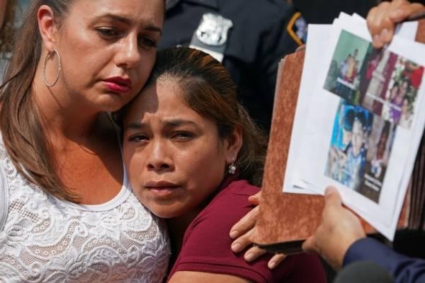migrante guatemalteca Yeni González visita a sus tres hijos separados en frontera de Estados Unidos