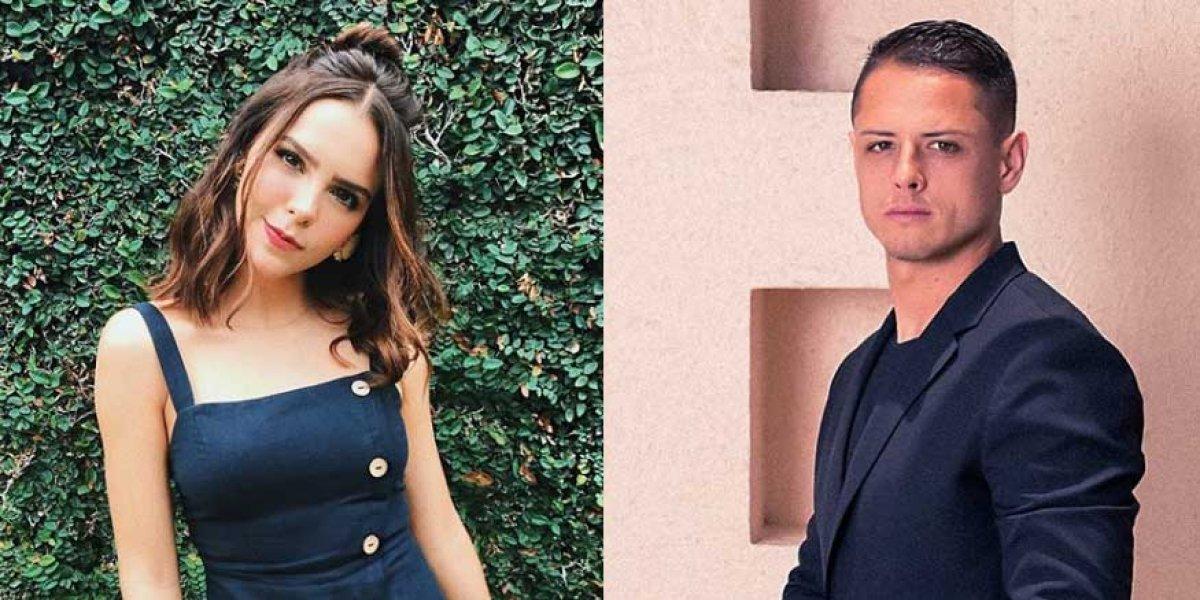 """El """"Chicharito"""" Hernández coquetea con Yuya y este mensaje lo confirma"""