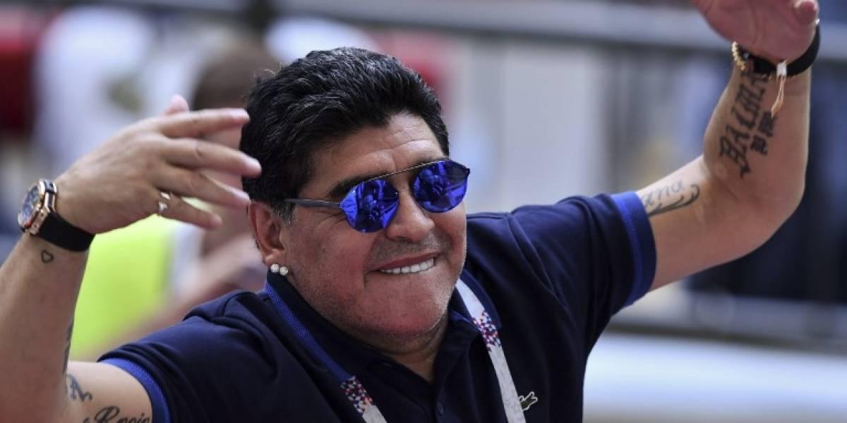 """FIFA denuncia a Maradona por criticar un """"robo"""" a Colombia"""