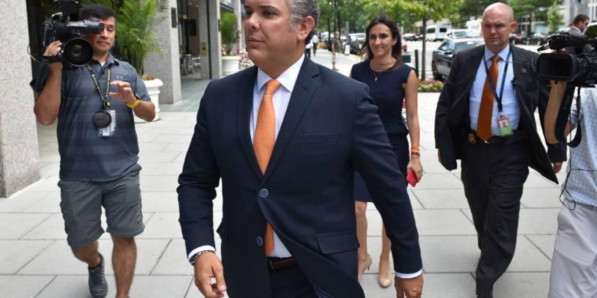 """Estados Unidos y Colombia acuerdan mantener la """"presión"""" sobre Venezuela"""
