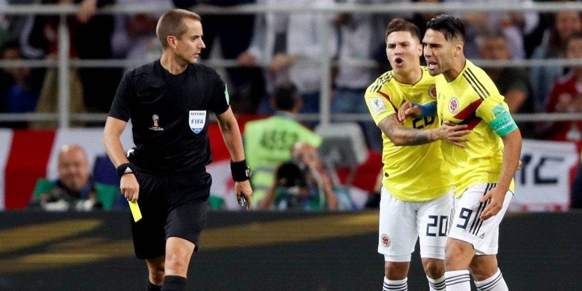 Árbitro de Colômbia x Inglaterra deve ser penalizado pela Fifa