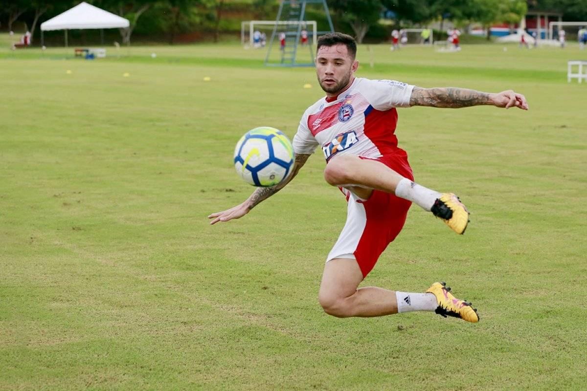 Eugenio Mena tiene contrato vigente con el Bahia / Foto: Facebook Bahia