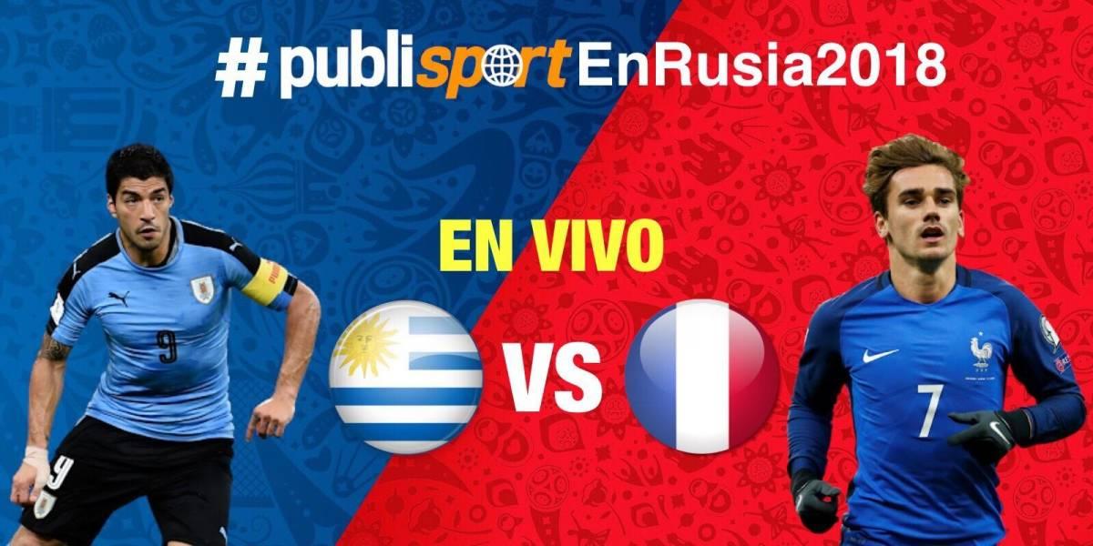 Uruguay es eliminado del Mundial de Rusia 2018