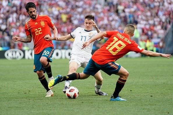 RUSIA VS ESPAÑA