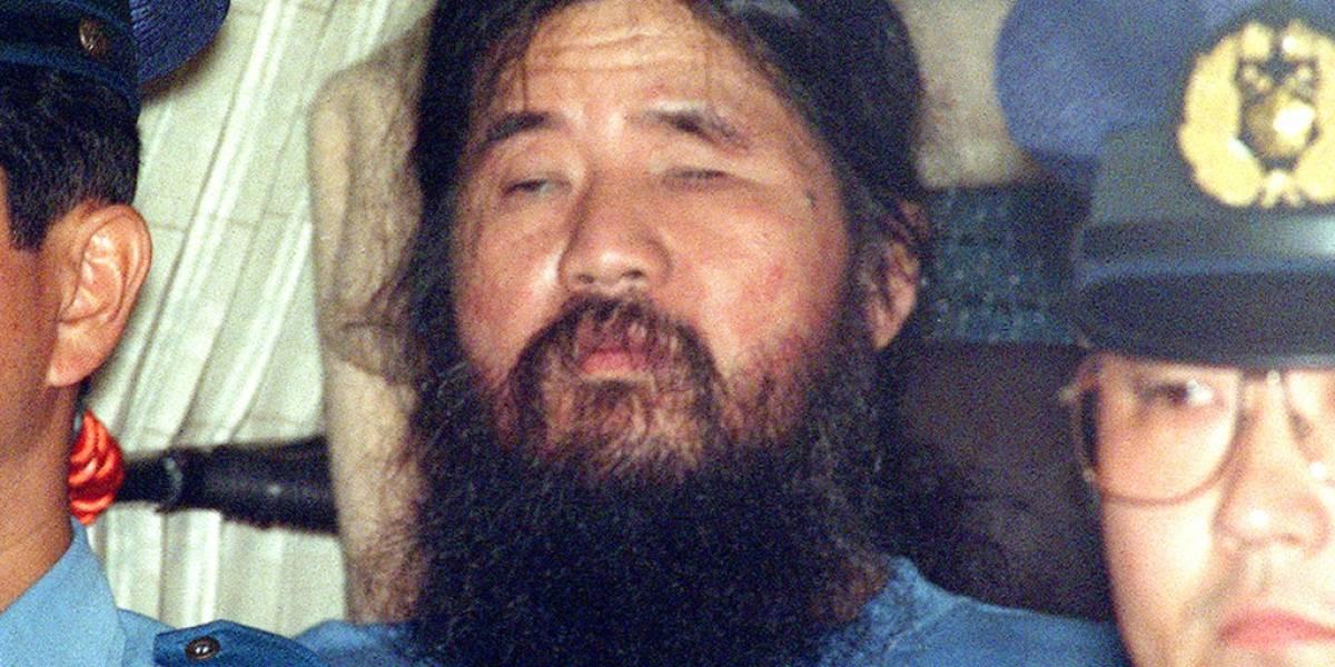 Atacó con Gas Sarín Metro de Tokio en 1995: Japón ahorcó a líder de una secta y sus seguidores