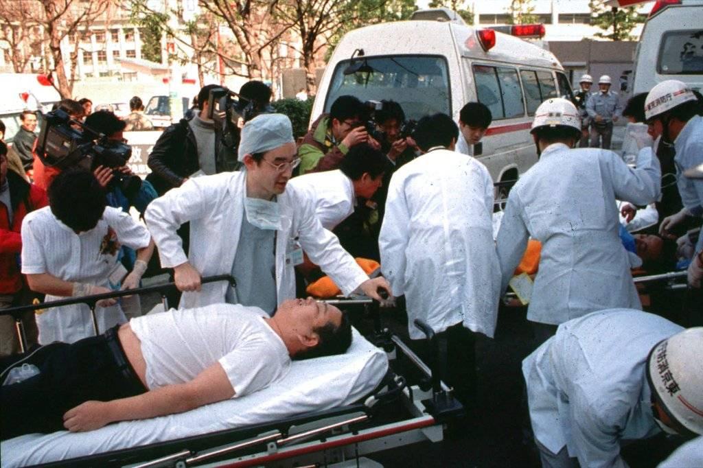 Ataque con Gas Sarín al Metro de Tokio 1995