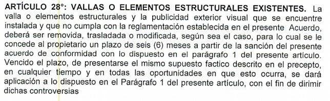 Artículo 28 del acuerdo 0436 del 2017