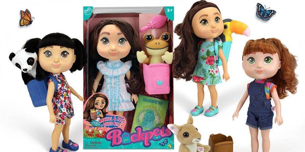 Empresaria boricua crea muñecas para empoderar a las niñas