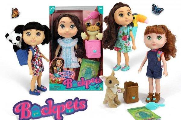 Muñecas Backpets