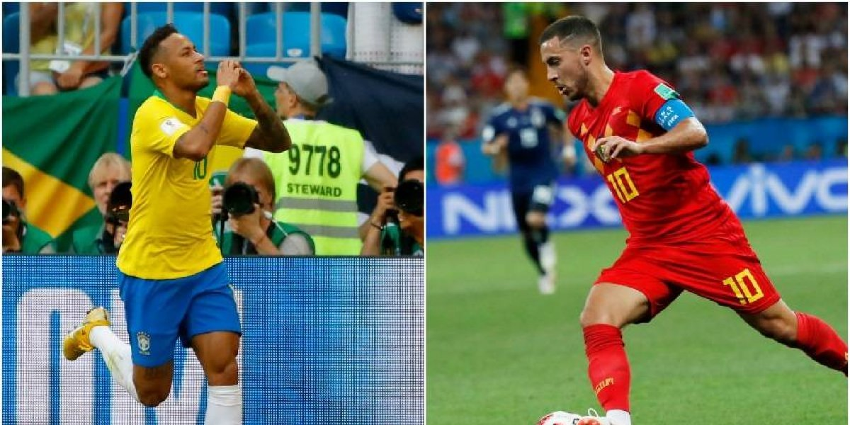 Brasil vs Bélgica: ¿Podrán los Diablos parar al demonio Neymar?