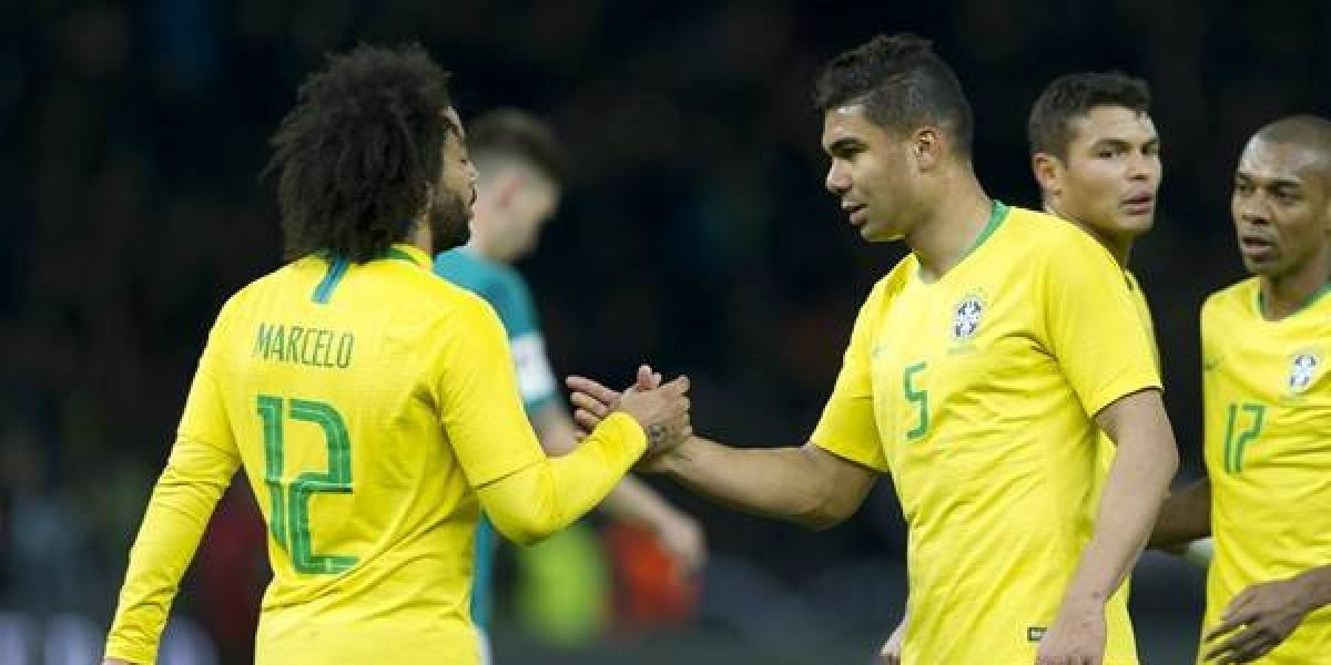 Hoy, 2 de la tarde. Brasil sin el suspendido Casemiro, pero con el regreso de Marcelo
