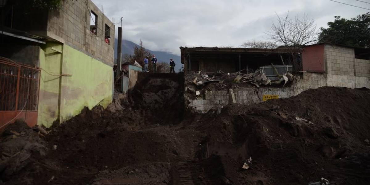 Estas son las comunidades que siguen en riesgo en el volcán de Fuego