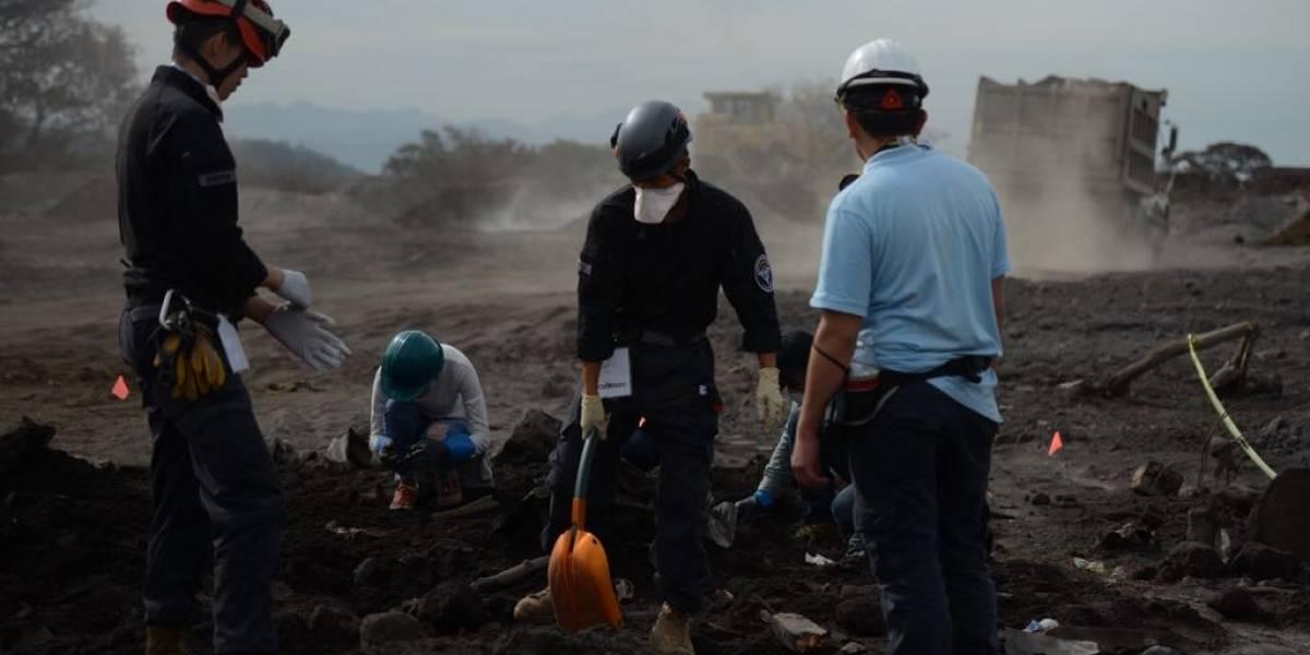 Retomarán búsqueda de víctimas del volcán de Fuego
