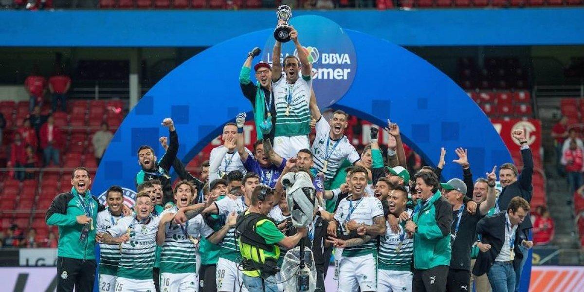 Los equipos campeones en torneos cortos de la Liga MX