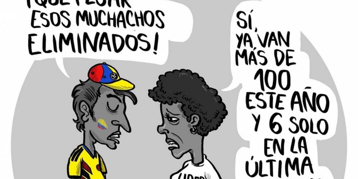 Amenazan de muerte a caricaturista X-tian en redes sociales