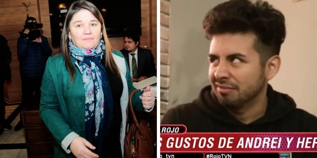 """""""Que alguien piense en los niños"""": Beso entre participantes de """"Rojo"""" dejó en shock a Marcela Aranda"""