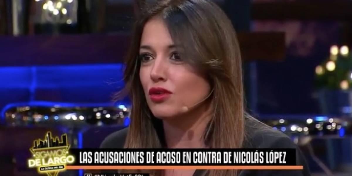 """Yamila Reyna sobre Nicolás López: """"se propasó conmigo"""""""