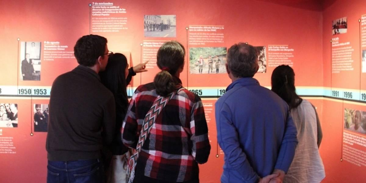 Últimos días para visitar La Palabra Des-Armada, exposición del Museo Nacional sobre el conflicto armado en Colombia