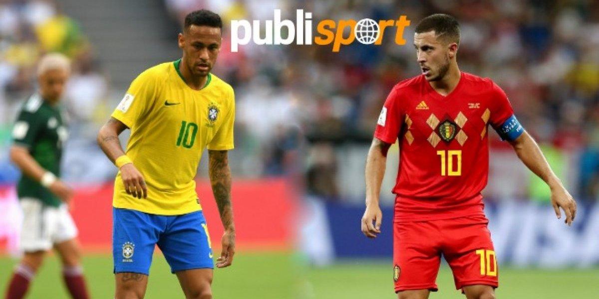 Brasil vs Bélgica ¿Dónde y a qué hora ver el partido?