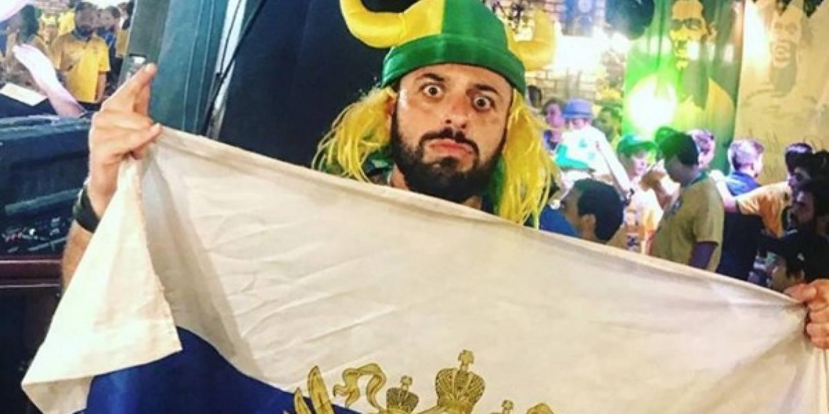Brasileiro vira meme da Rússia, já fez até comercial por lá e teve sua imagem tatuada no bumbum de fã