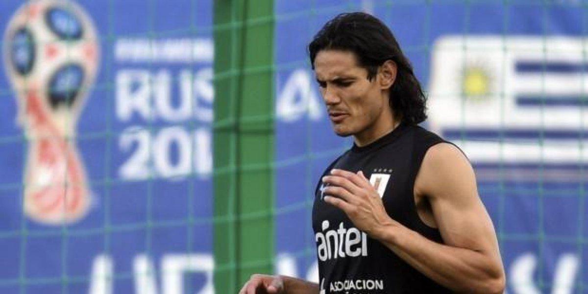 Hoy, 10 de la mañana. Uruguay con la gran duda de Edinson Cavani