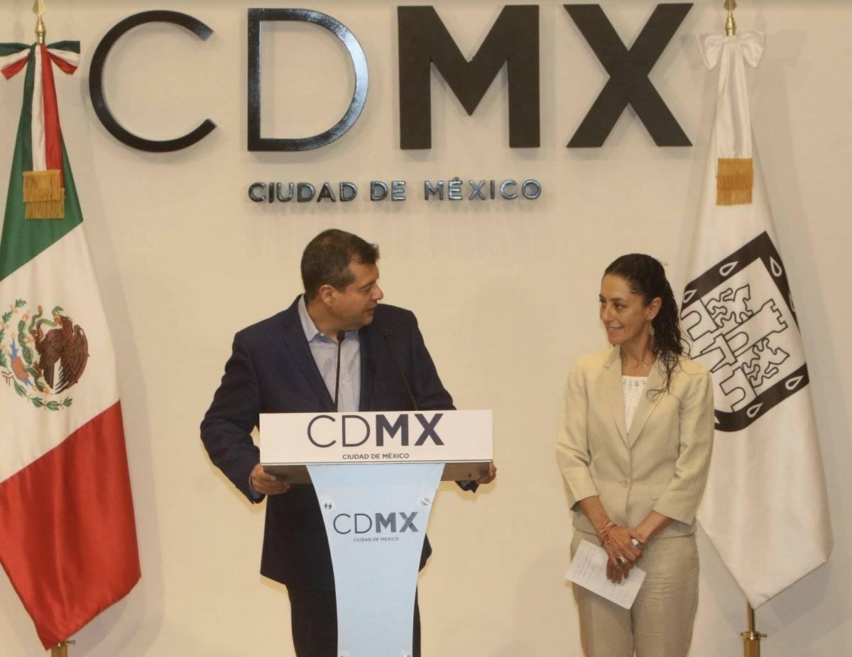 El Jefe de Gobierno recibió a Claudia Sheinbaum. Cortesía.