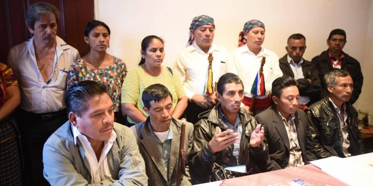 Comunidades en Resistencia de San Juan Sacatepéquez denuncian ataques y piden apoyo de entidades de DDHH