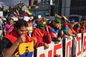 Correístas marchan en Quito