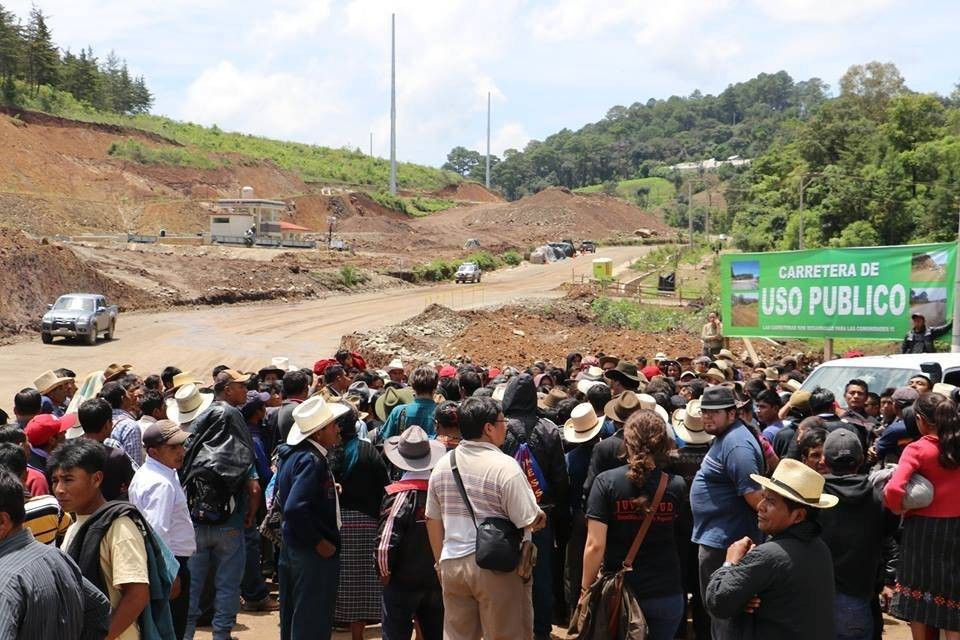 ataque contra resistencia pacífica en San Juan Sacatepéquez