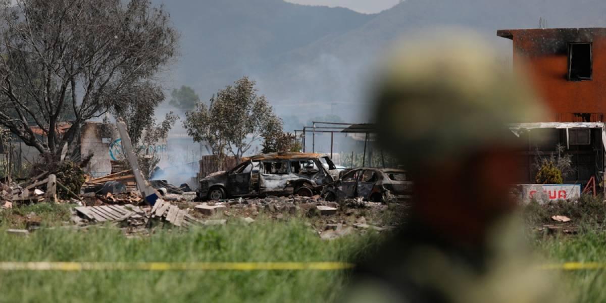 VIDEO. 24 muertos en explosiones en talleres de pirotecnia en México