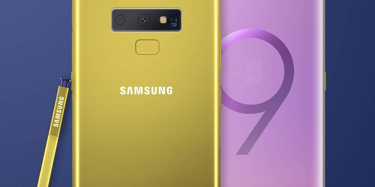 Se filtra la apariencia del Galaxy Note 9 y tiene ¿¡4 cámaras!?