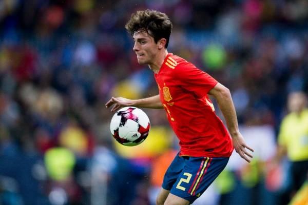Álvaro Odriozola irrumpió en la selección absoluta de España de la mano de Julen Lopetegui / Foto: Getty Images