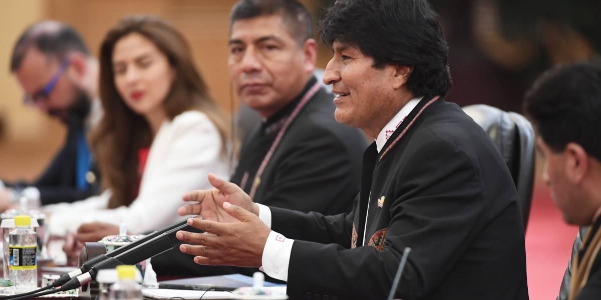 Le extirpan tumor a Evo Morales, presidente de Bolivia