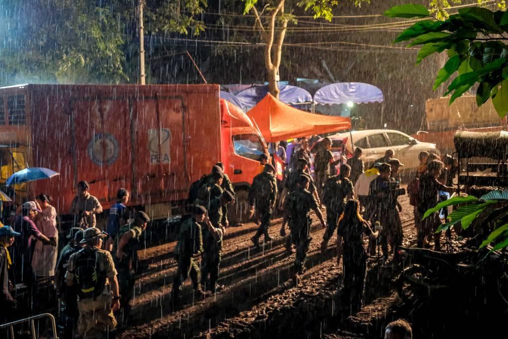 Otra complicación en el operativo para rescatar a los niños de Tailandia