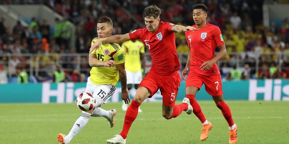 """Defensa de Inglaterra destrozó a Colombia: """"Son el equipo más sucio contra el que he jugado"""""""